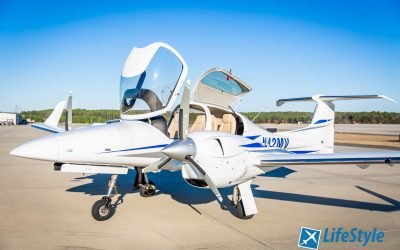 Now offering Multi-Engine training in our new Diamond DA42
