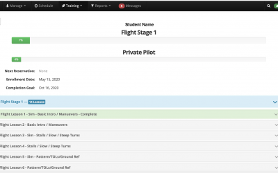 CRAFT's Private Pilot Syllabus is integrated into Flight Circle