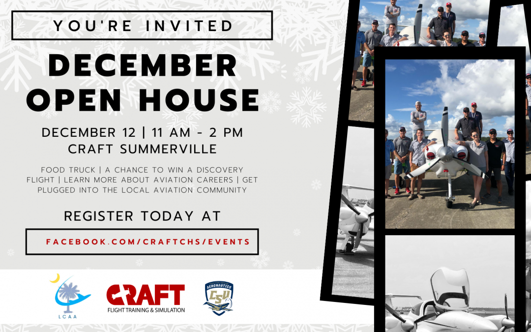 Special Event – December Open House at CRAFT Summerville