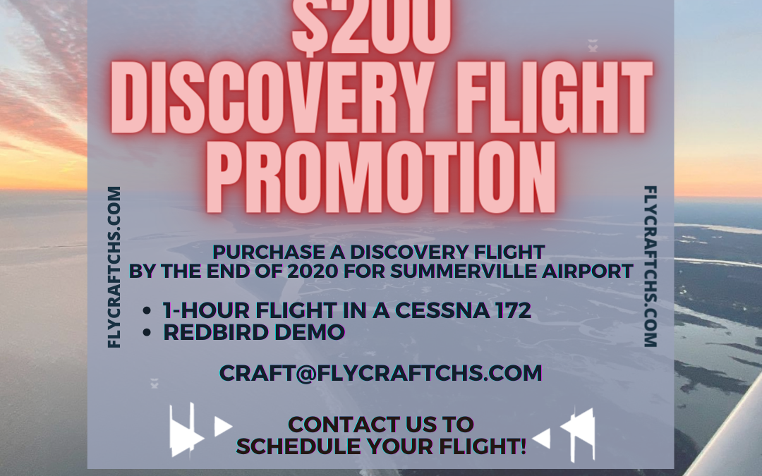 Summerville Discovery Flight Promotion