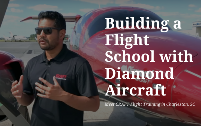 Building a Flight School with Diamond Aircraft | Meet CRAFT Flight Training in Charleston, SC